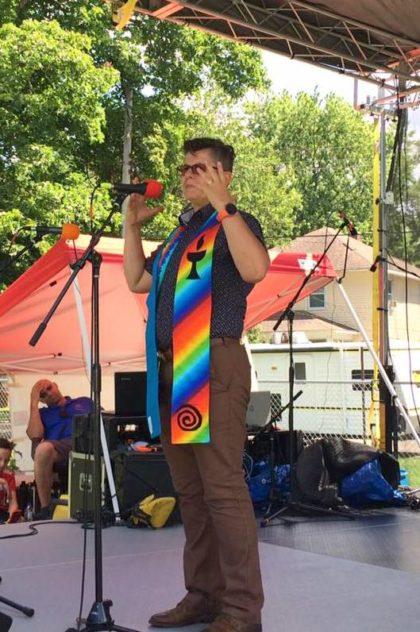 Rev. Gy at Black Arts Festival